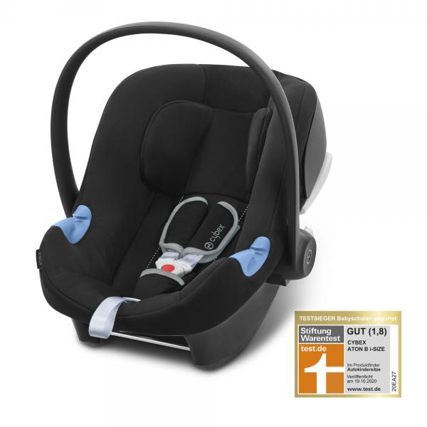 Cybex Aton B i-Size Babyschale Schwarz Stiftung Warentest