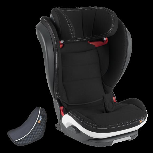 BeSafe iZi Flex fix Folgesitz ab 15kg in hochwertigem Schwarz