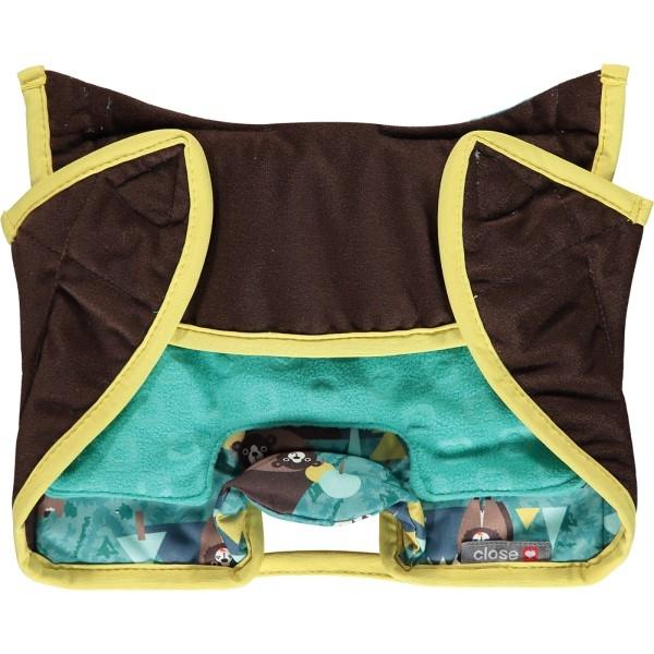 PopIn Kindersitzschutz Seat Protector Bär Packen
