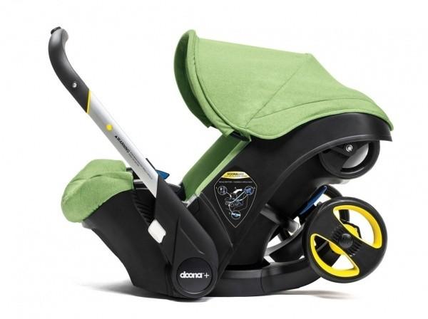 Babyschale mit Buggy Doona grün