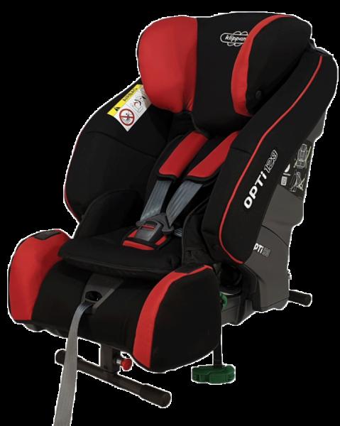 Klippan Opti 129 Kindersitz Rot Reboarder bis 125 cm