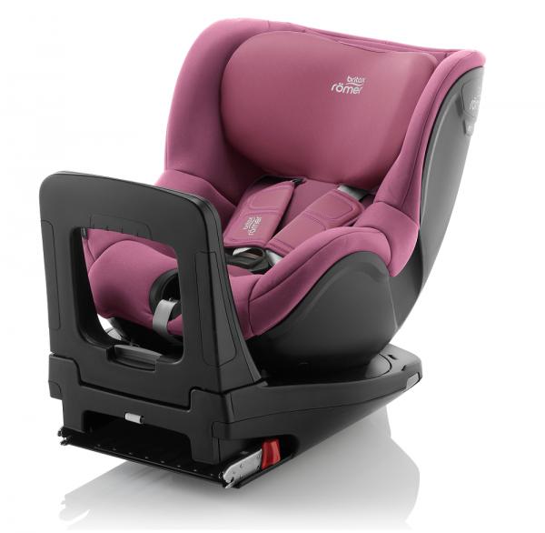 DUALFIX I-SIZE: Britax Römer Kinderautositz in weinrot / rosa
