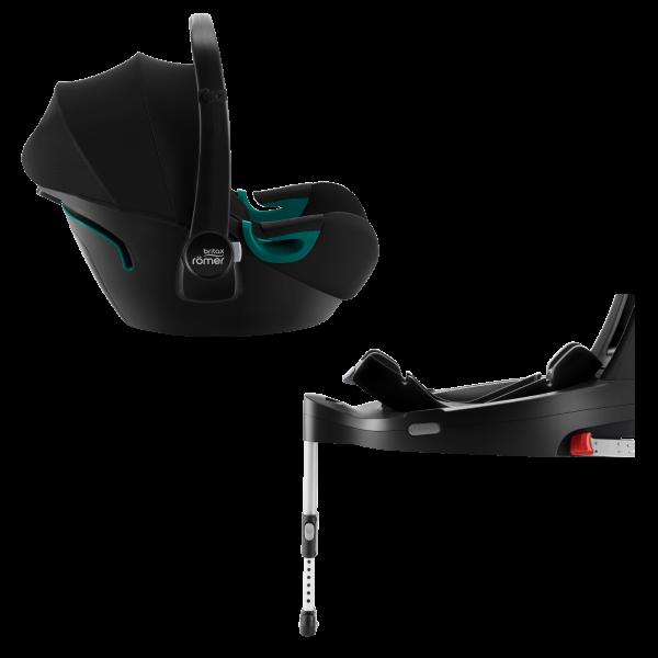 Britax Römer Baby-Safe 3 Isofix Base Bundle Space Black