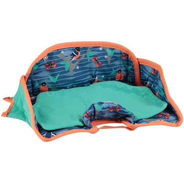 PopIn Kindersitzschutz Seat Protector Twighlight Garden