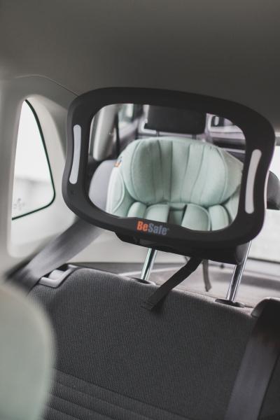 BeSafe XL Babyspiegel mit Licht und Fernbedienung