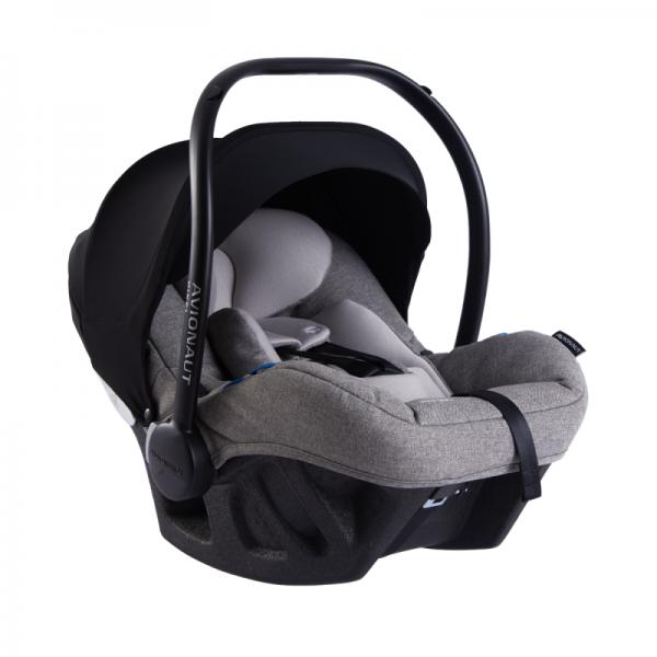 Avionaut Pixel PRO Babyschale Kindersitz ADAC Grau