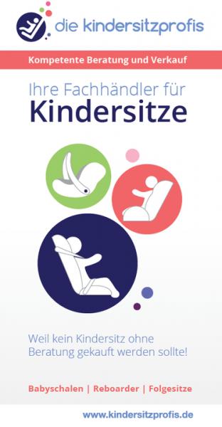 Wissenswertes über Kindersitze - Infoflyer: Ihre Fachhändler