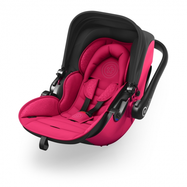 Kiddy Babyschale liegend Pink