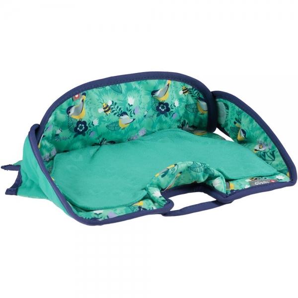 PopIn Kindersitzschutz Seat Protector Round Garden
