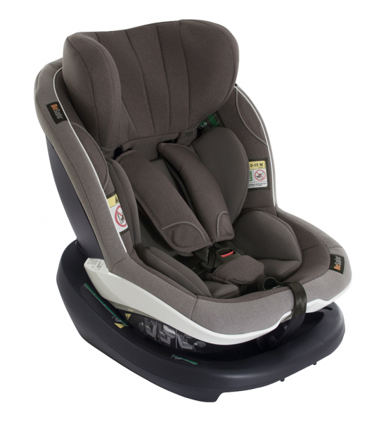 BeSafe Kindersitz bis 105cm Metallic grau