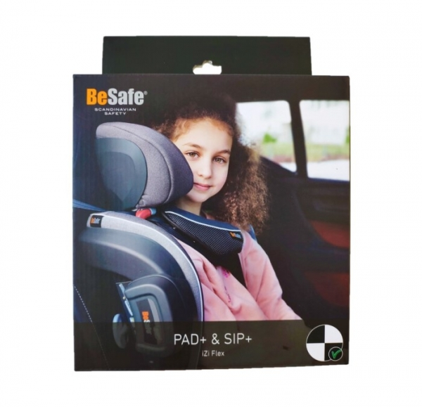 Besafe Zubehör-Packet PAD+ & SIP+ für Flex S Fix