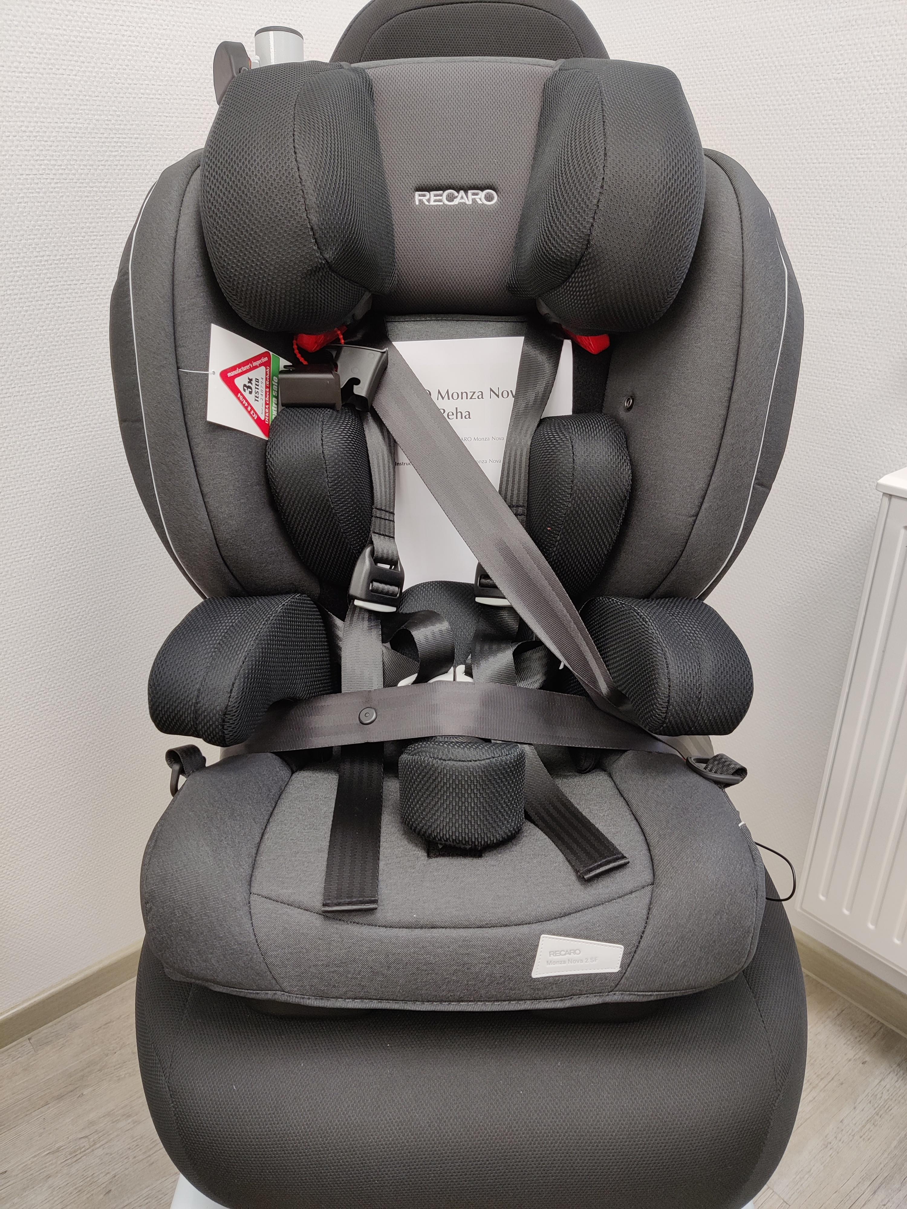 Recaro Monza Nova Seatfix Reha