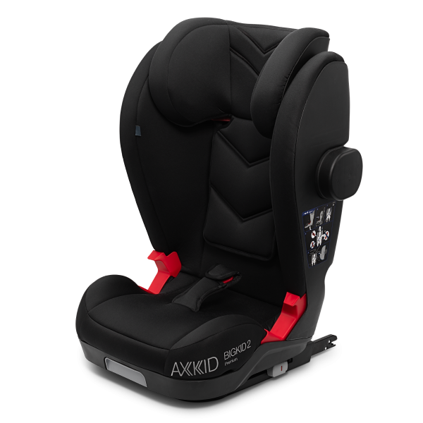 Axkid Bigkid 2 Premium Schwarz Front