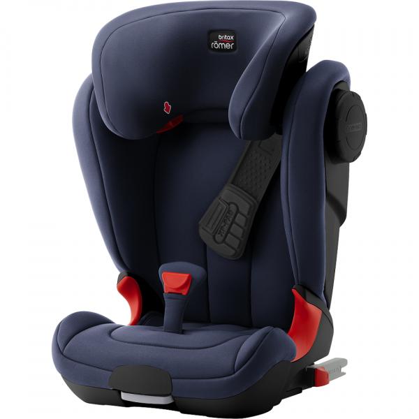 Britax Kidfix 2 schwarzes Design in blau