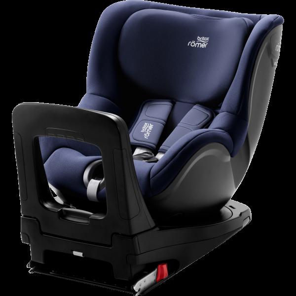 Britax Römer Dualfix m i-Size Moonlight Blue blau Kindersitz