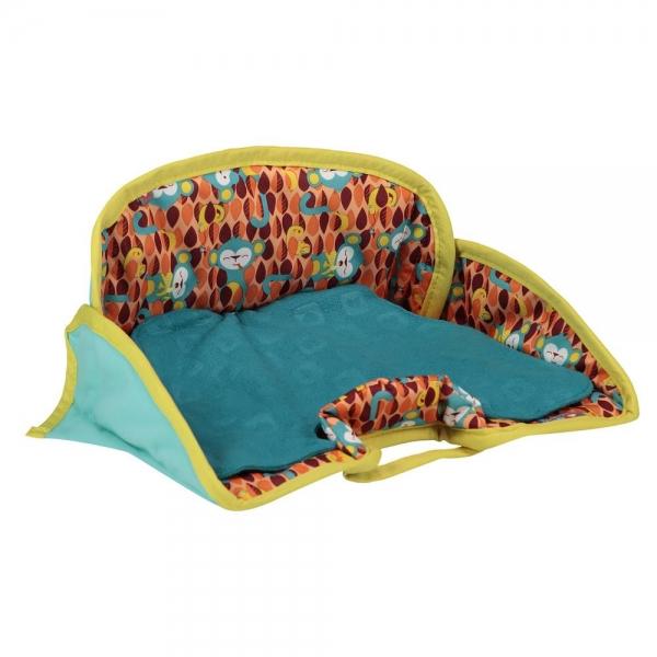 PopIn Kindersitzschutz Seat Protector Affe& Chamäleon