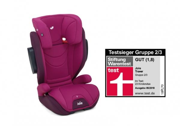 Joie Traver Kindersitz Prinzessin pink