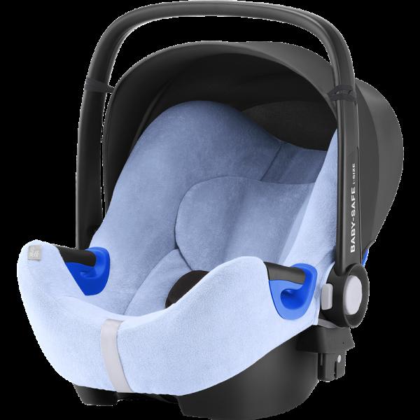 Sommerbezug Baby-Safe blau