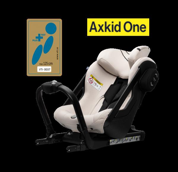 Axkid One Reboarder Brick Melange Plus-Test
