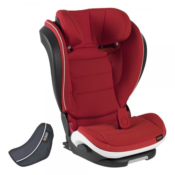 roter Kindersitz bis 36kg BeSafe iZi Flex Fix i-Size Sunset melange