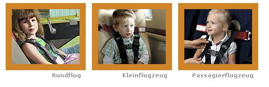 Cares Kindersicherung Flugreise Gurte