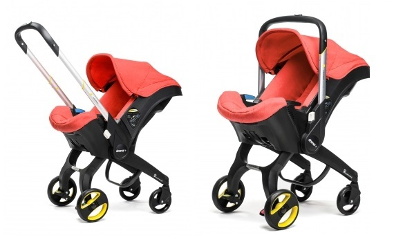 Simple Parenting Kindersitz Kinderwagen 2 in 1 rot