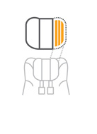 I-gemm Kopfstütze Struktur Aufbau Schutzsystem