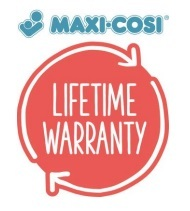 Maxi-Cosi Garantie lebenslang Lifetime Warrenty