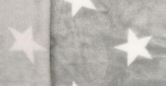 weiße Sterne auf grau
