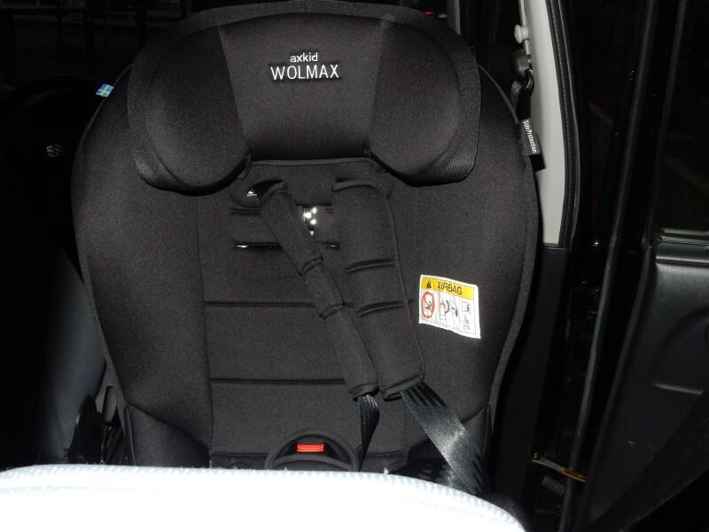 Wolmax im Auto