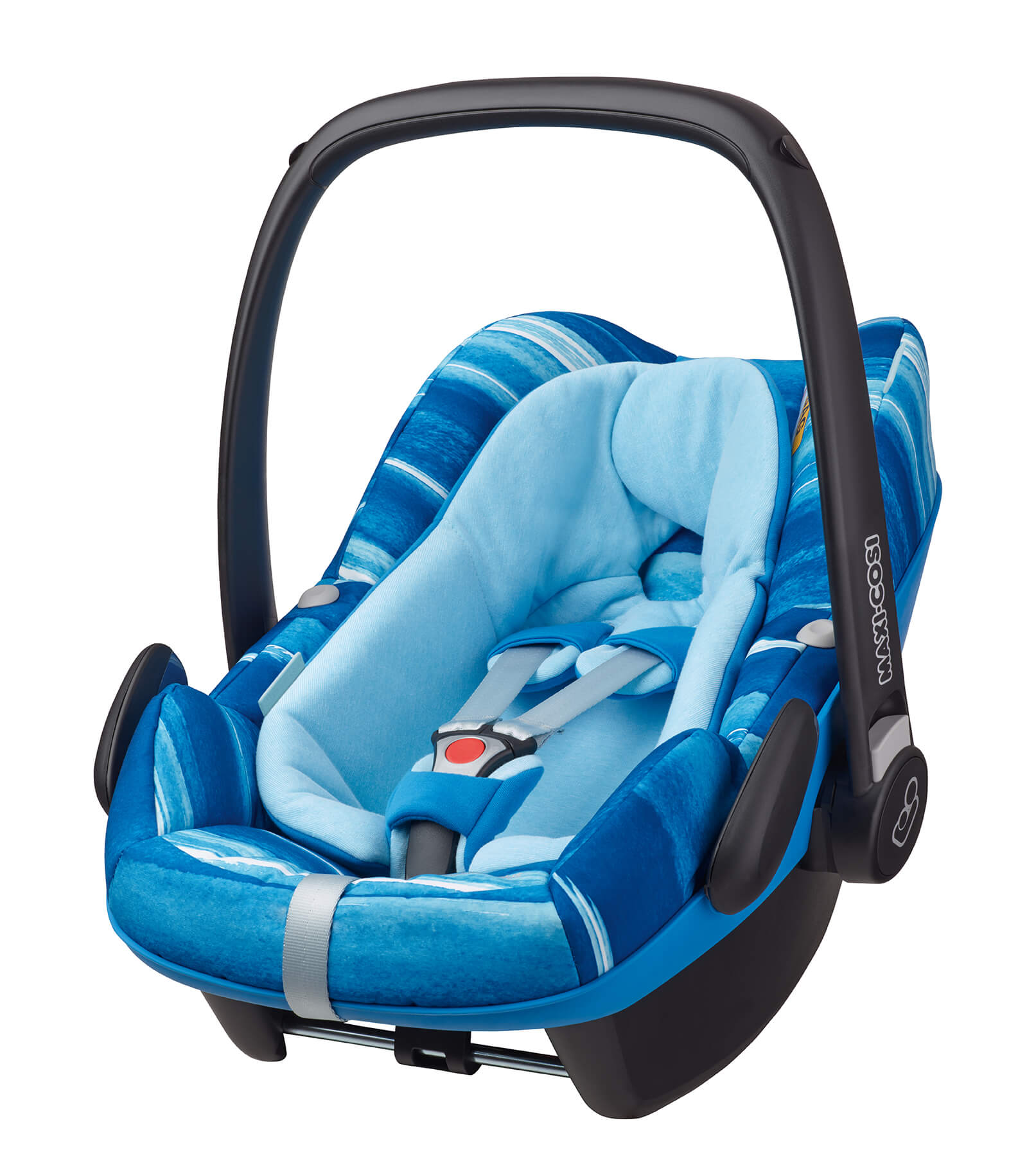 maxicosi carseat babycarseat pebbleplus 2016 blue watercolorblue 3qrt