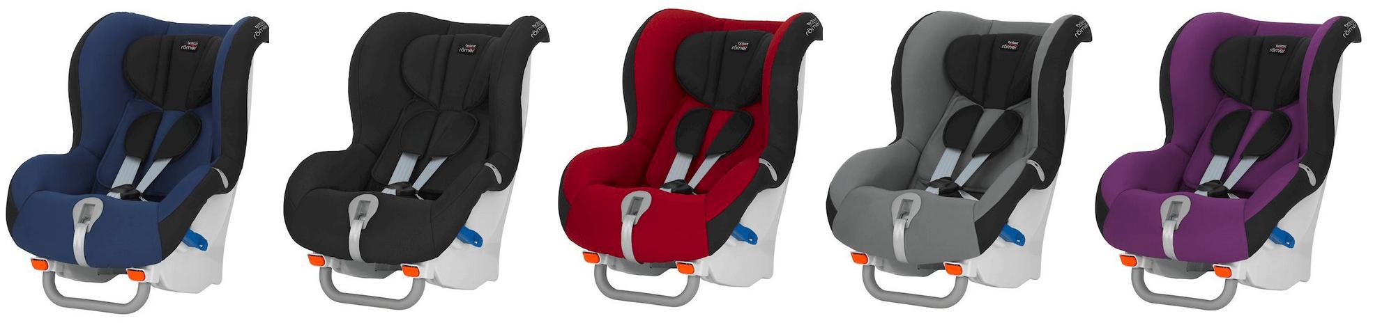 Britax Römer MAX-WAY: Ab sofort für 255 € und in fünf neuen coolen Farben
