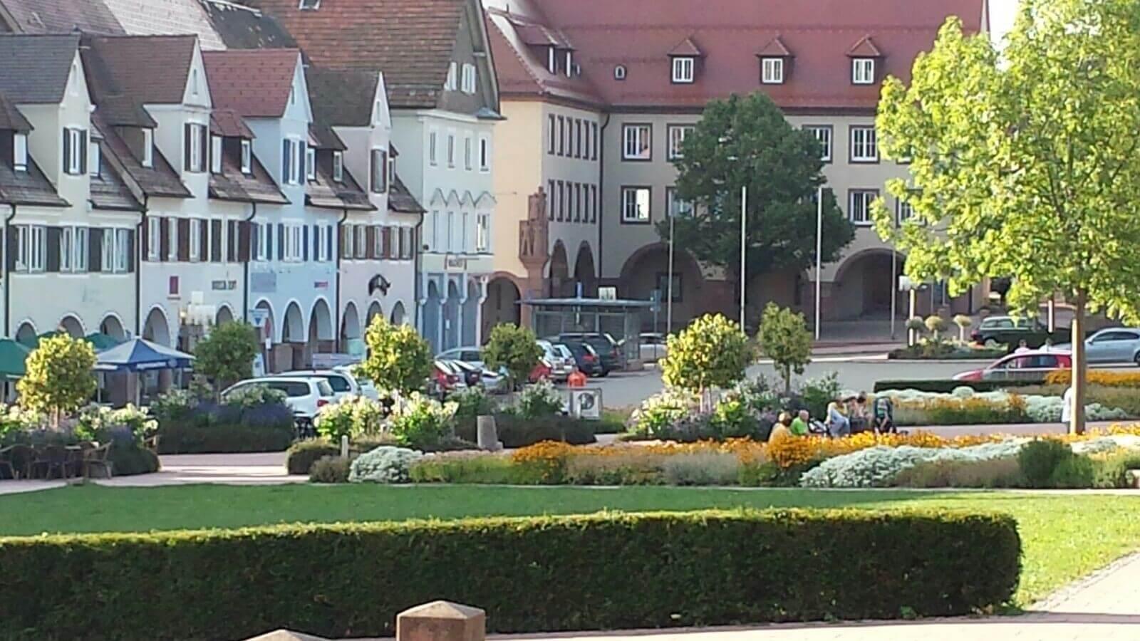 Das beschauliche Freudenstadt im Schwarzwald