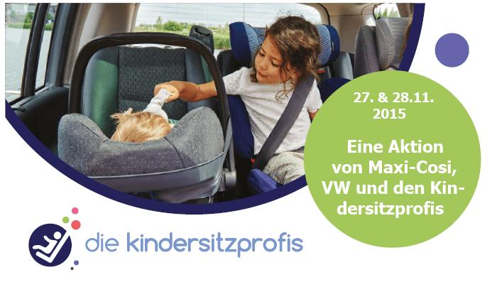 """Aktion """"Drei Kindersitze in einem Familienauto"""""""