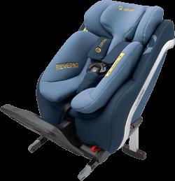 Concord Reverso Denim Blue Reboarder Kindersitz Isofix