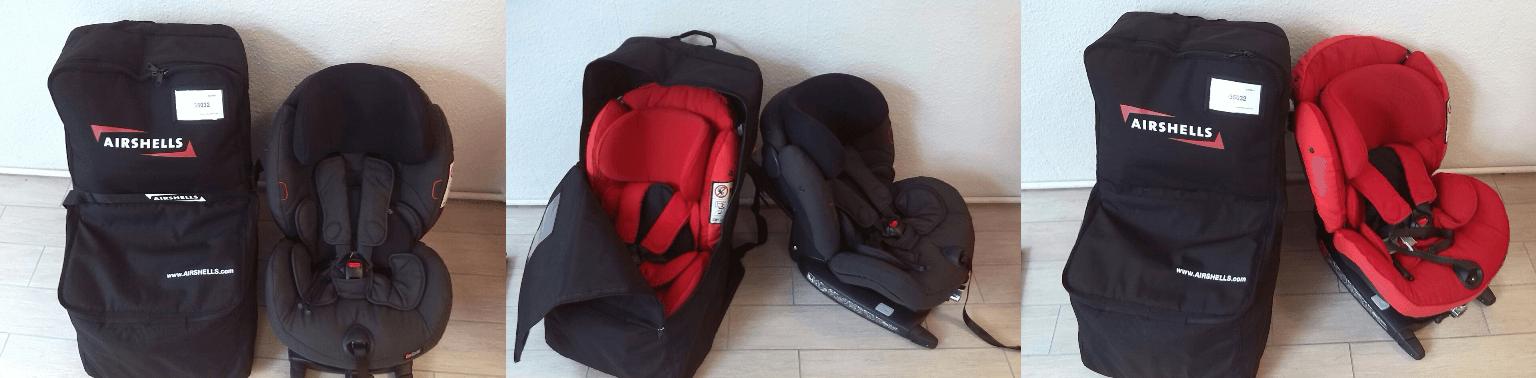 Besafe und Airshell Tasche