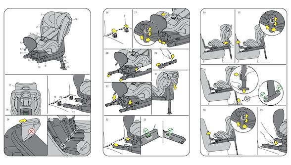 Bedienungsanleitung Kindersitz