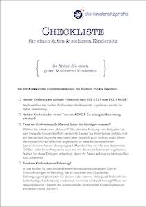 Vorschaubild für unsere Checkliste