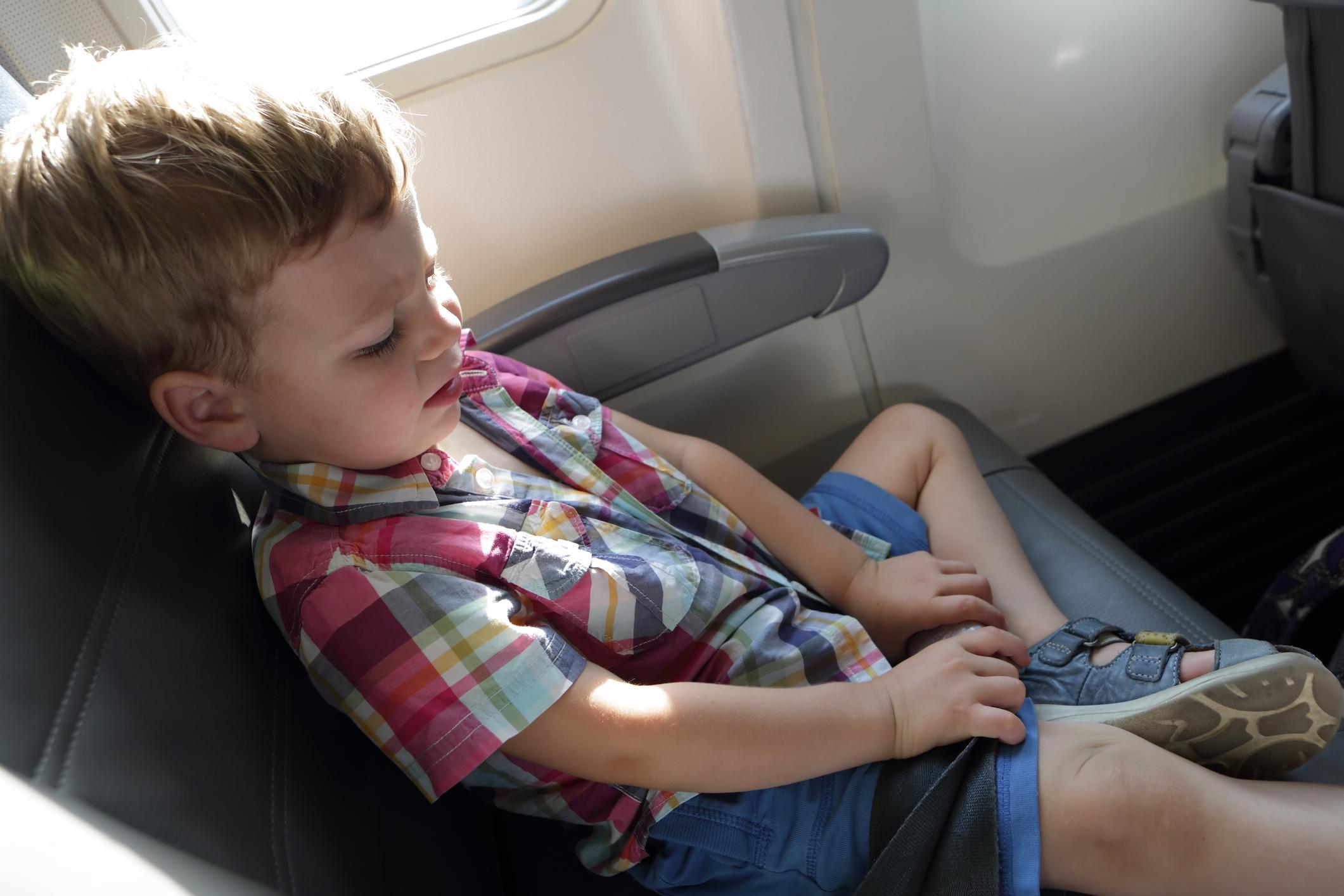Mit Kindern sicher fliegen