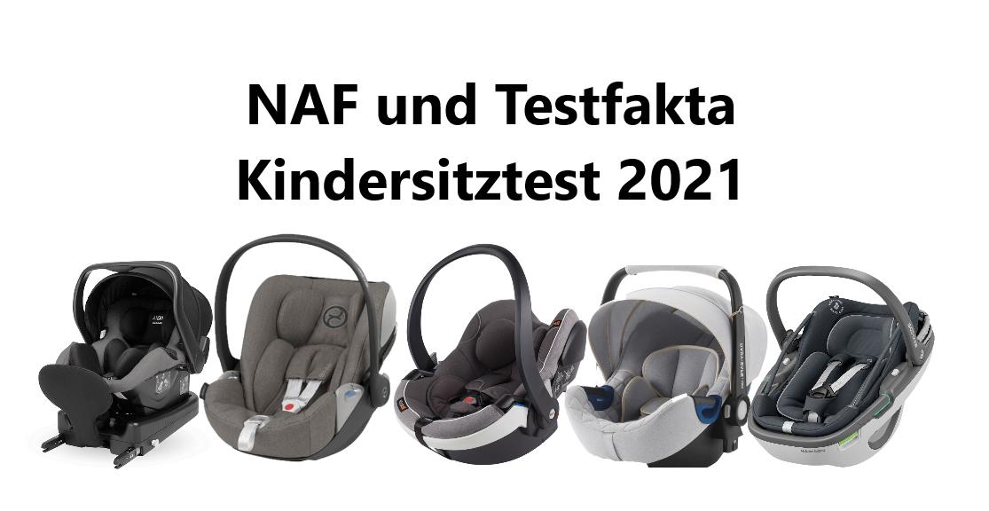 Norwegischer Kindersitztest im Januar 2021 Naf Testfakta Babyschalen