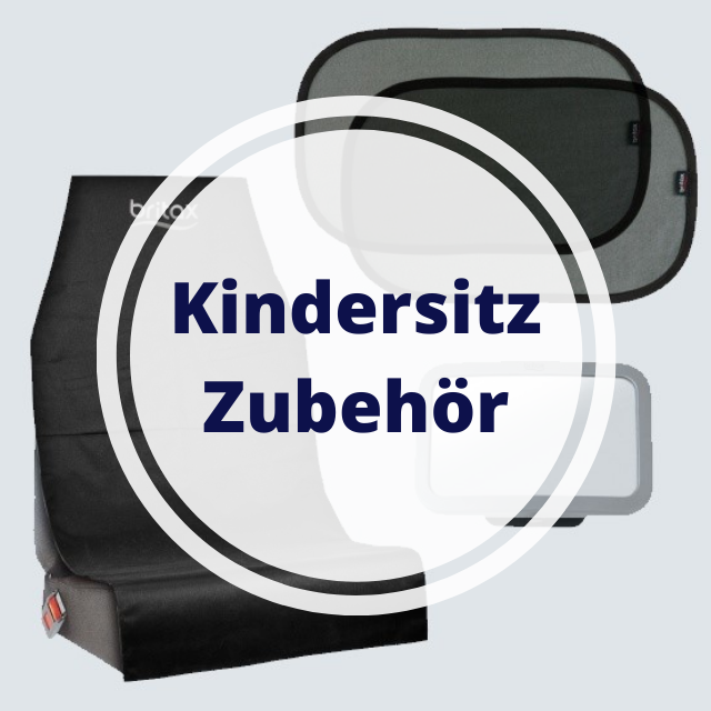Zubehör für Kindersitz mit ADAC Test und Zulassung im Auto