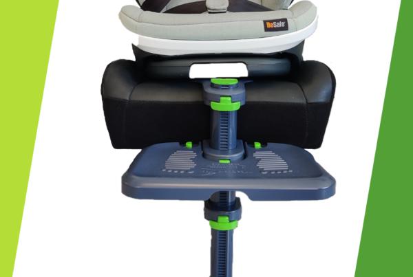 Kneeguardkids Kindersitz Zubehör Kinderbeine Schutz